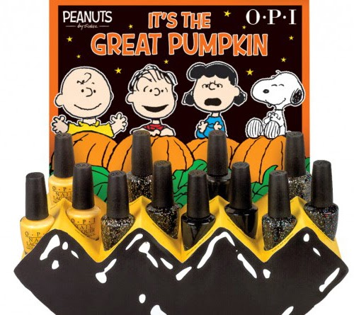 OPI // Limited Edition Peanuts Halloween Collection - Sweet Elyse