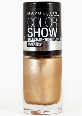 Maybelline Color Show Bold Gold