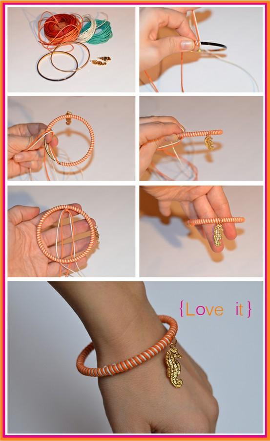 Как сделать браслеты своими руками на резинке