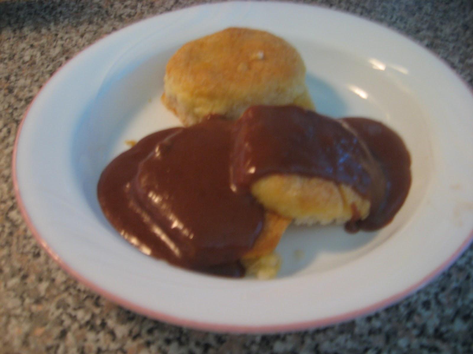 Grandma Gail's Front Porch: Chocolate Gravy
