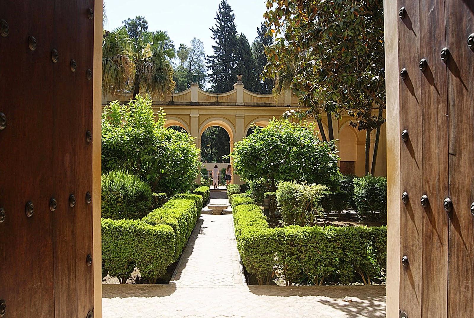 Leyendas de sevilla reales alc zares de sevilla vii for Jardines verticales sevilla