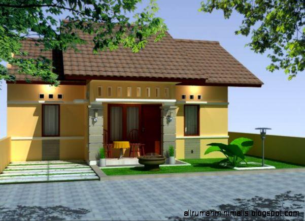 Seketsa Rumah Minimalis 1 Lantai  Kata Bagus