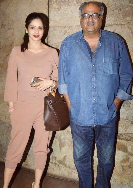 Rekha & Sridevi grace the special screening of 'Khoobsurat'