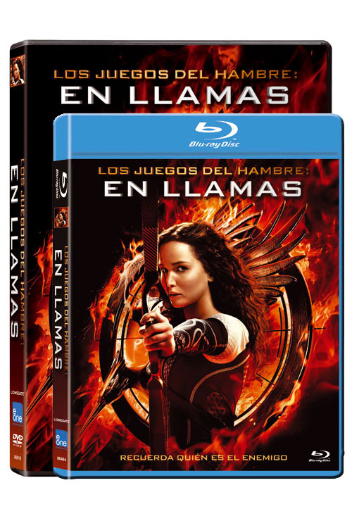 Ediciones Blu-Ray y DVD de Los Juegos del Hambre: En Llamas