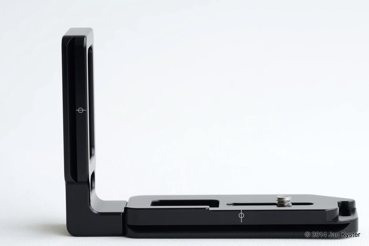 Hejnar ND800 Modular L Bracket backside
