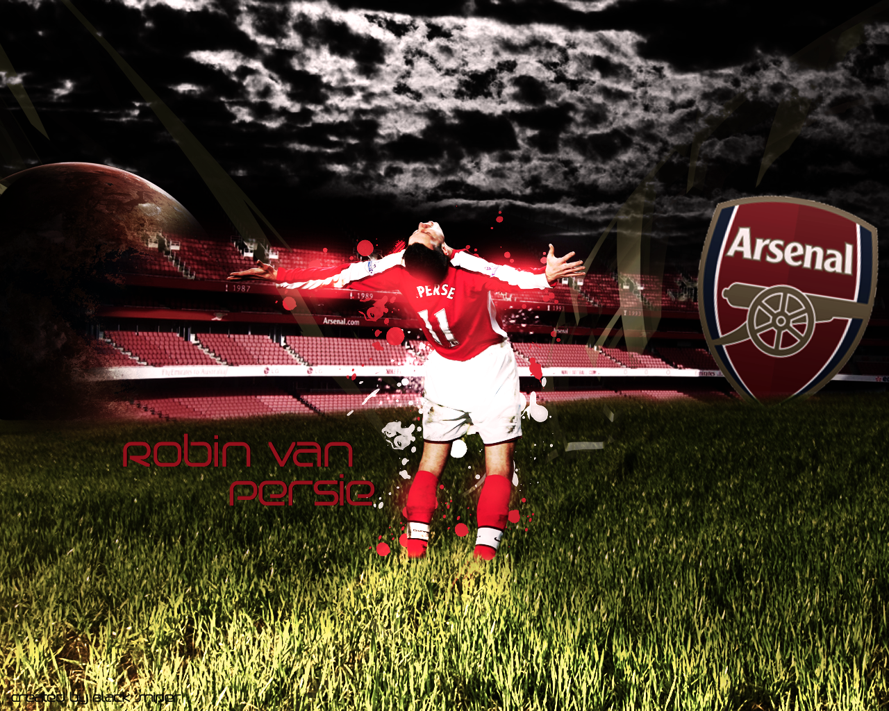 Van Persie Arsenal Wallpaper Arsenal Best Player Van