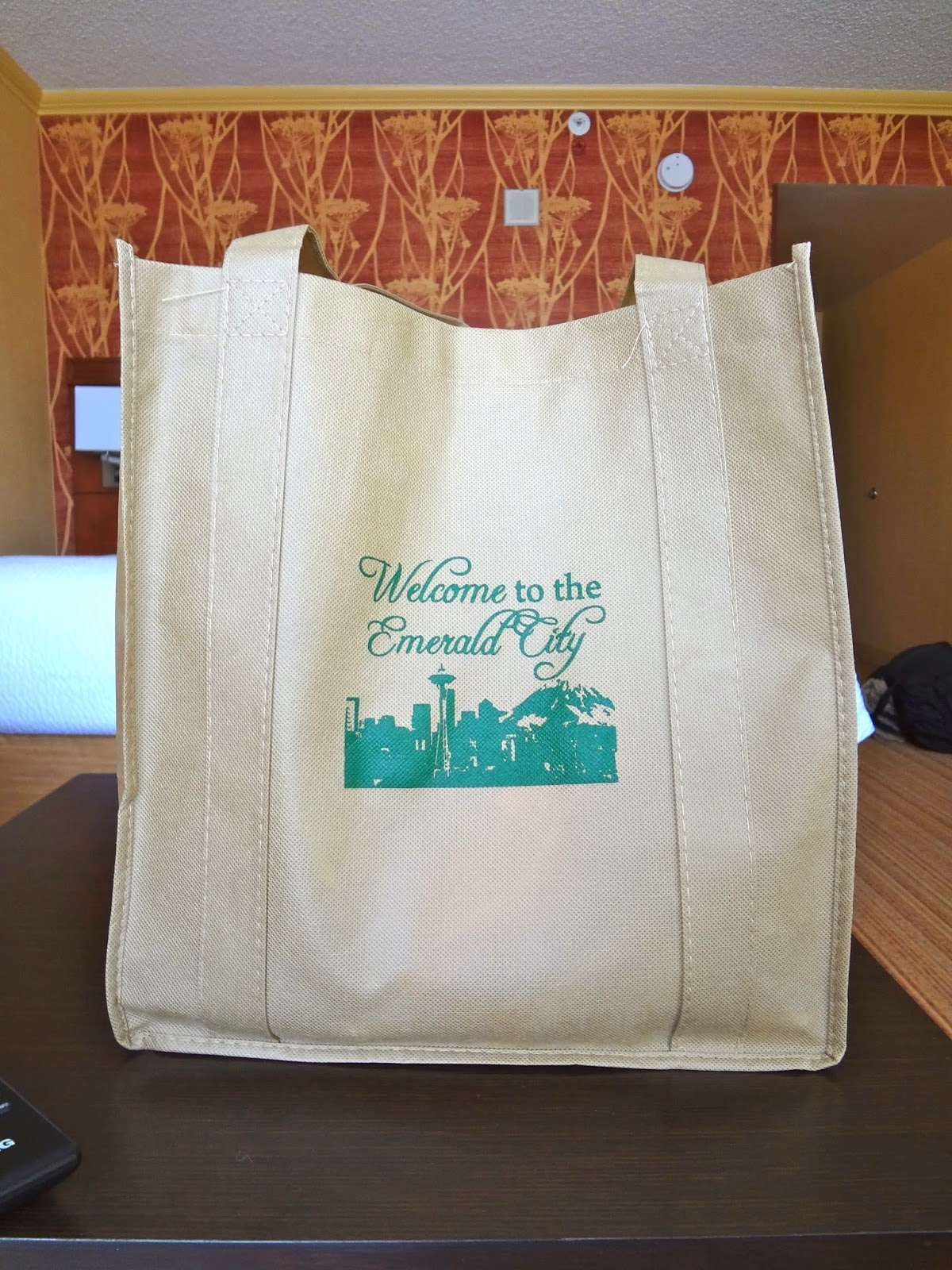Hardly Housewives The Bomb Hotel Gift Bag Seattle Edition
