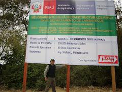 SUPERVISIÓN DE CONSTRUCCIÓN DE OBRA HIDARULICA LAMBAYEQUE - AÑO 2010
