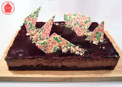 entrement chocolat noir chocolat caramel léger gourmand