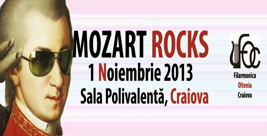 Mozart Rocks la Craiova, de 1 Noiembrie