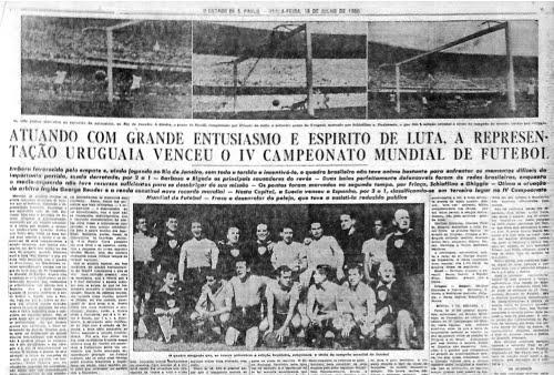 A GLORIA ETERNA: IV COPA MUNDIAL DE FUTEBOL, RIO DE JANEIRO