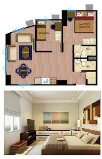 Avida Towers Alabang Two Bedroom Unit Plan