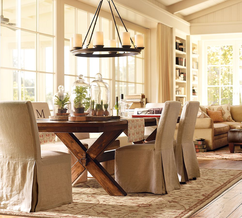 home and garden dining room decorating ideas