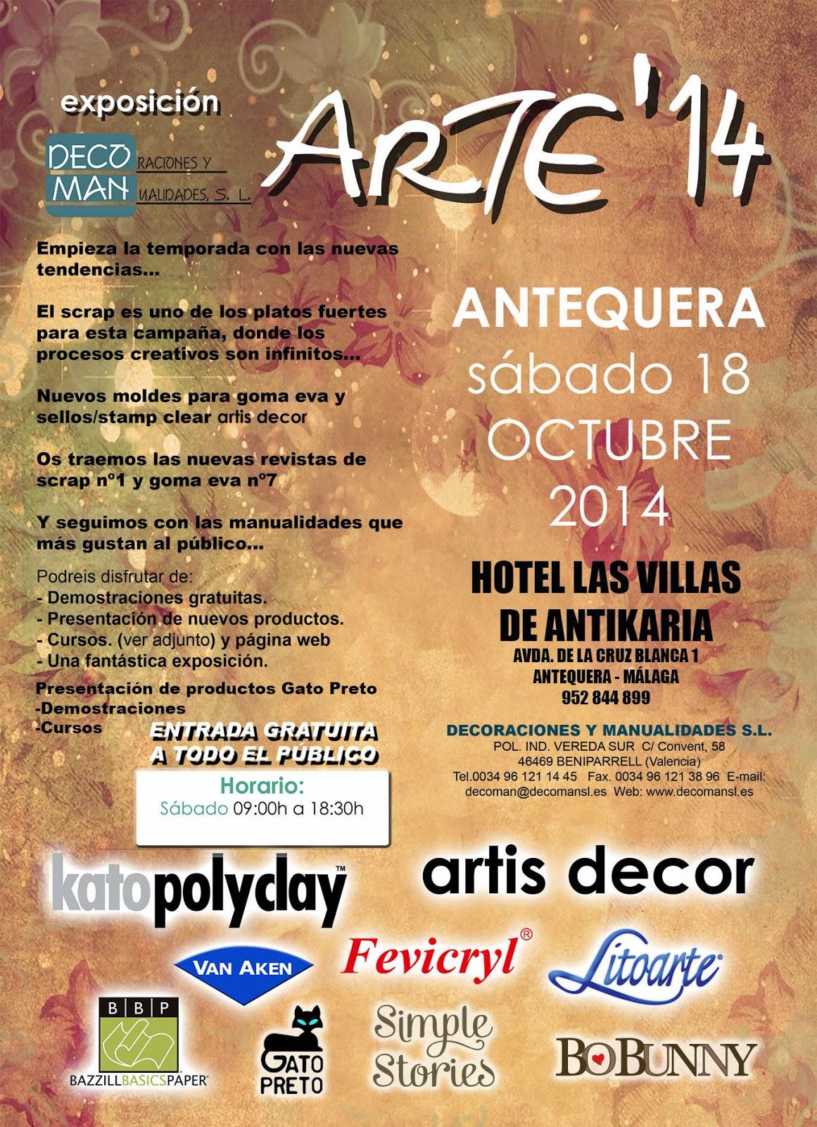Blog Decoman Bellas Artes Y Manualidades Cursos Antequera 18 De  ~ Cursos De Manualidades En Valencia