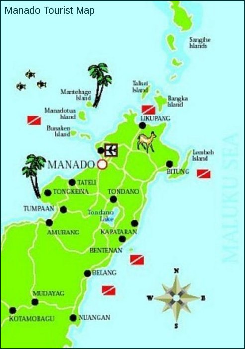 Manado Indonesia  City pictures : Indonesia Red White: Manado