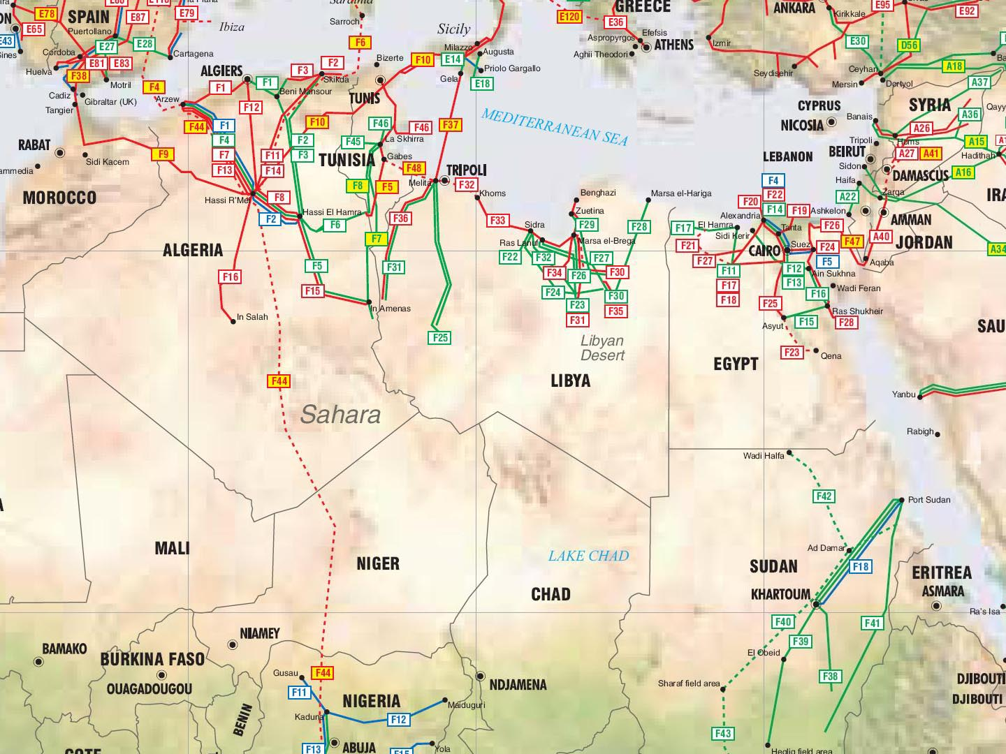 as for libya much has been talked about in the media that it s of more importance due to the fact that it actually produces more crude oil than egypt or