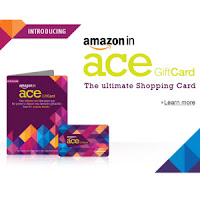 Get 5% off on Gift Cards on ACE Gift Card at Amazon : Buy To Earn