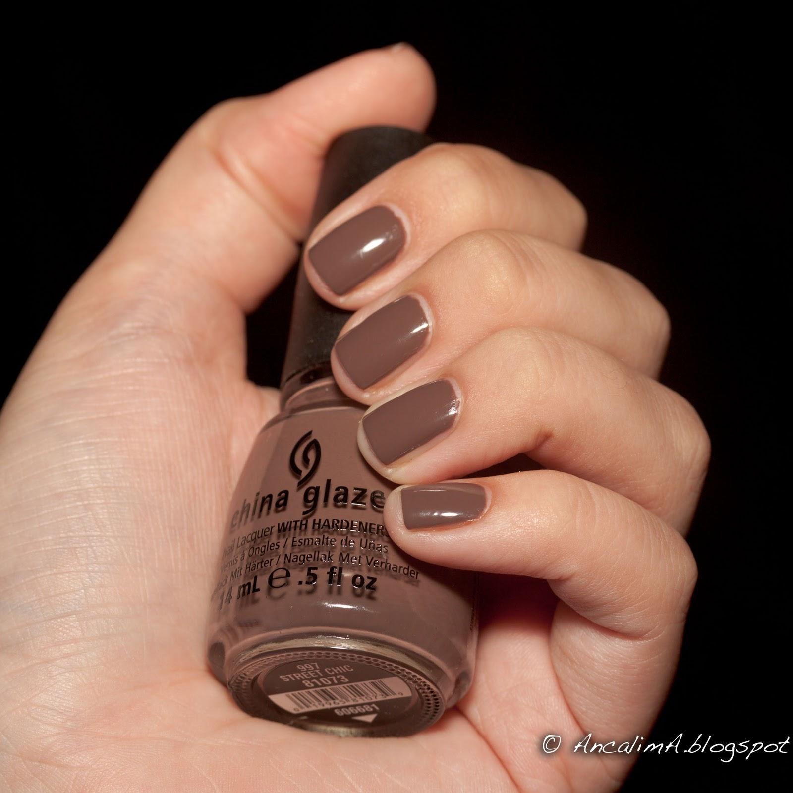 Кофейный цвет лака для ногтей фото