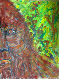 Bigfoot Art By Hercules Hart