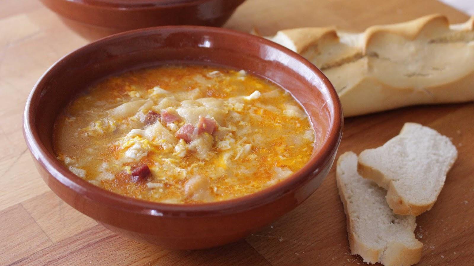 Recetas para tres sopa castellana - Sopa castellana casera ...