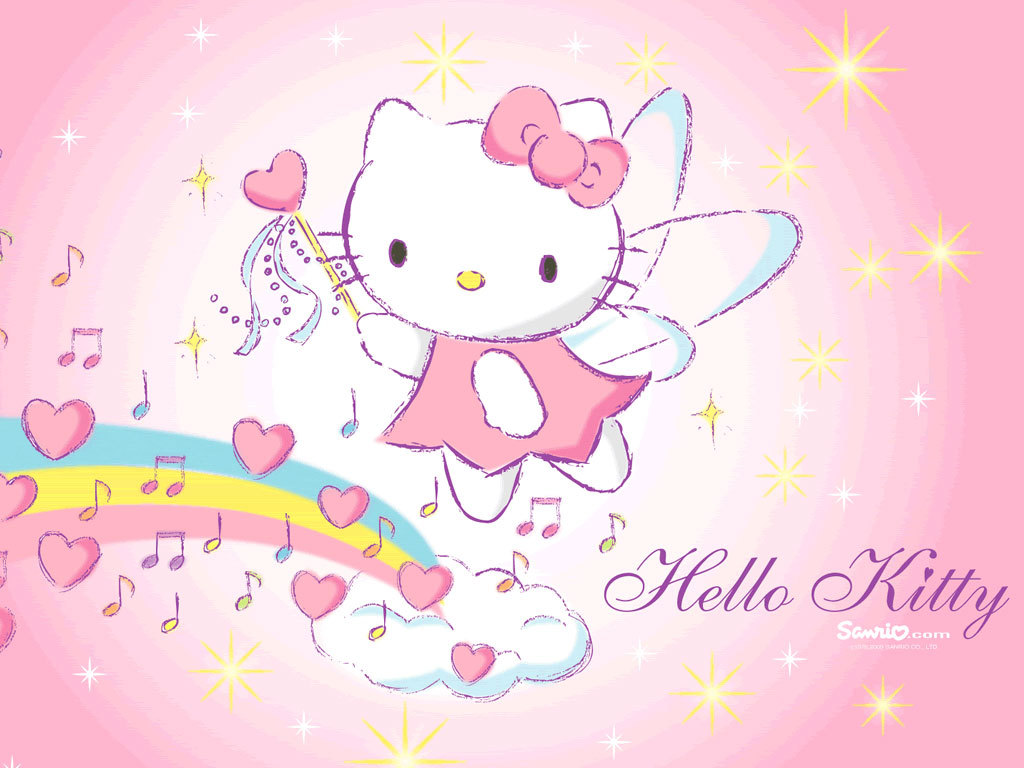 9 Free Cute Hello Kitty Wallpaper For Kids Girls