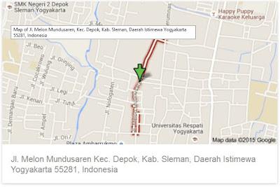 https://www.google.com/maps/place/Jalan+Melon+Mundusaren,+Kecamatan+Depok,+Kabupaten+Sleman,+Daerah+Istimewa+Yogyakarta+55281,+Indonesia/data=!4m2!3m1!1s0x2e7a59c27e52ae0f:0x73f550a46ccc2b11?sa=X&ei=dG1sVbCFOdGRuASTlIHQCA&ved=0CBoQ8gEwAA
