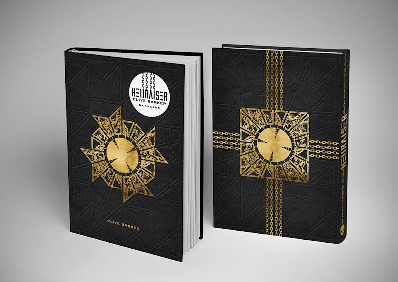LIVRO Hellraiser – Renascido do Inferno será lançado pela primeira vez no Brasil