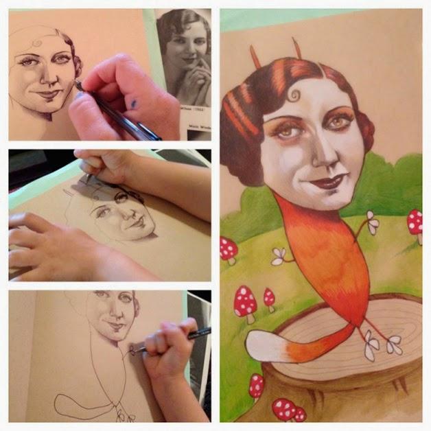 Ilustrações, pais e filhos, Bk, Vanessa Vieira