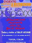 Encuentro contra la Militarización, Ocupación y Represión en Honduras