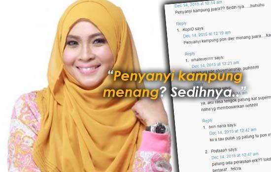 Peminat Tak Puas Hati Siti Nordiana Juara Gegar Vaganza 2