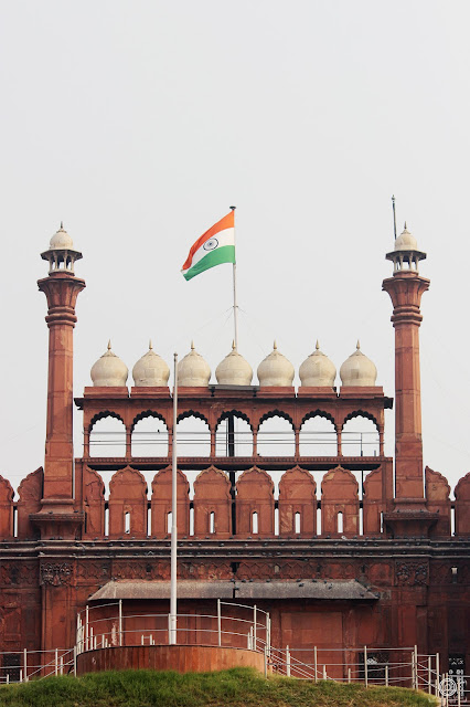 City & Architectures, india, red fort, delhi, monument