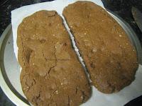 10 Egg-less Chocolate Oats Biscotti