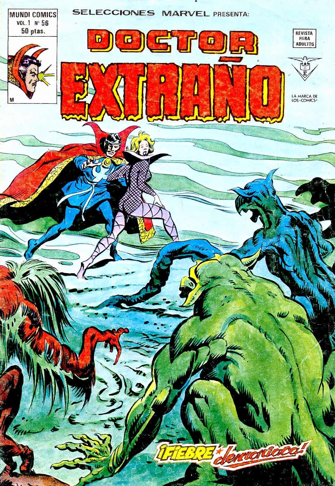 Portada Selecciones Marvel Volumen 1 Nº 56 Ediciones Vértice