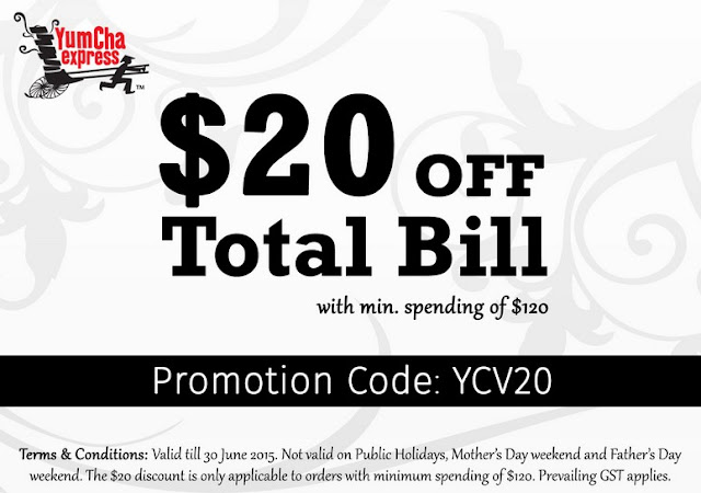 Yum Cha Express Promotional Code