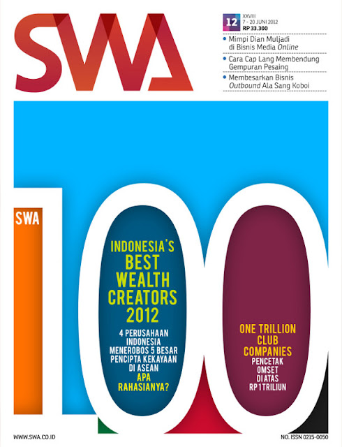 INDONESIA'S BEST WEALTH CREATORS 2012 (SWA EDISI 12/2012)