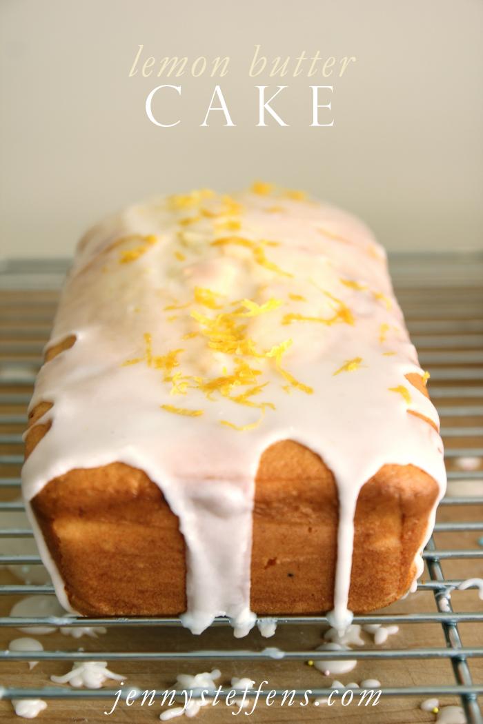 Jenny Steffens Hobick: Lemon Butter Cake with Simple Lemon Glaze