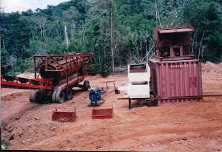 MIning Equipment: this is a good template for alluvial Diamonds and Gold