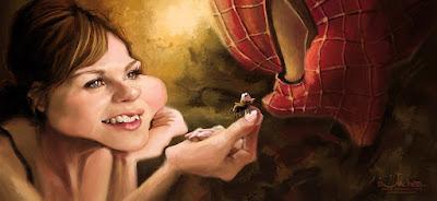 """""""Kirsten Dunst"""" por Alexander Novoseltev"""