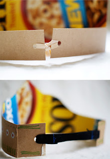 Reciclatex Cómo hacer coronas de cartón