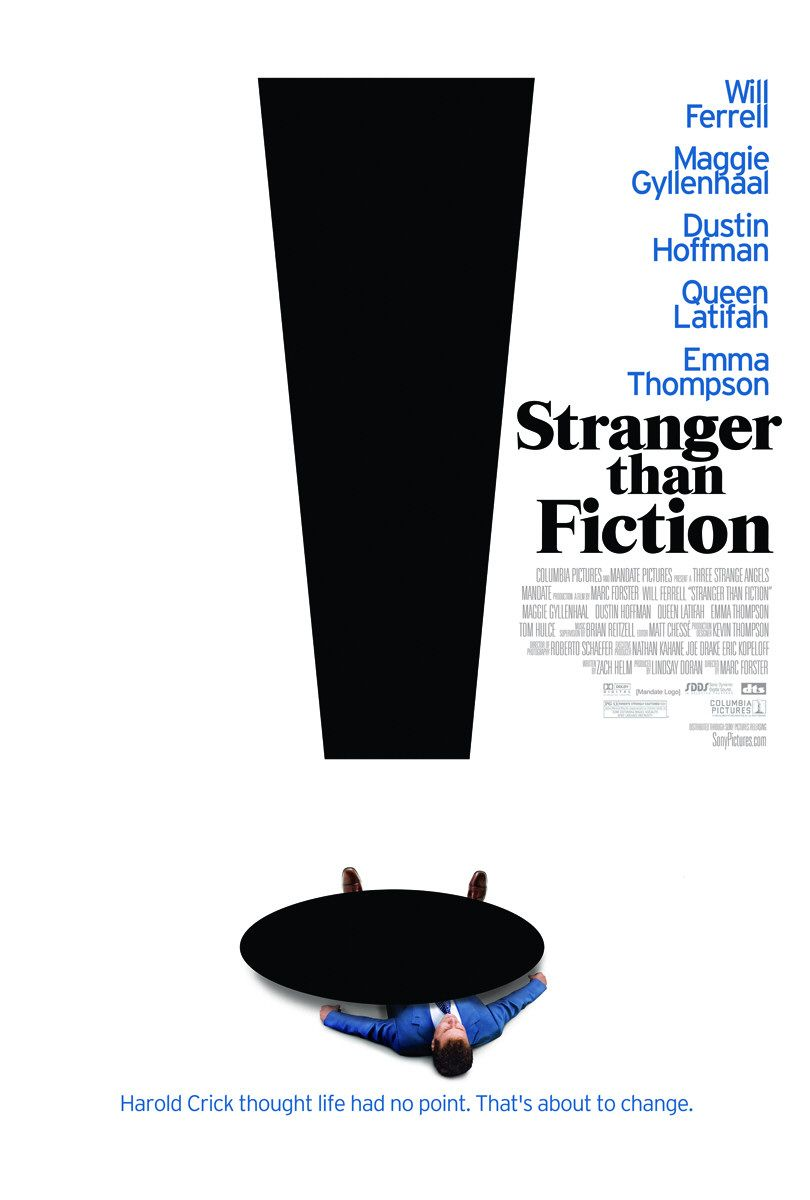 stranger than fiction Dw prgrsson scrpt 3 strenger then fiction new screenplay by z ch helm ny  questions or comments should be directed to: linds y dor n three str nge ngels.