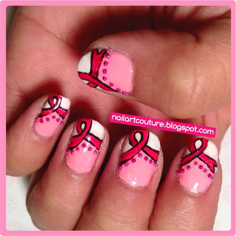 Nail Art Couture★ !: Breast Cancer Awareness Nails