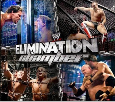 WWE Elimination Chamber 2015 Match Timing Rules Pics |Telecasat 1 June 2015 on TenSports