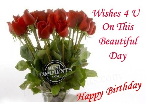 Birthday Cards Wishes To Flatter Special Ones Lovely Happy Birthday Wishes With Roses