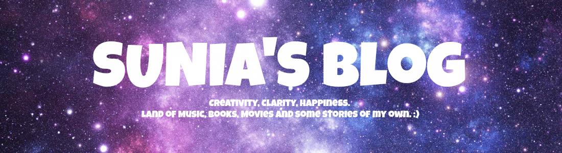 Sunia's Blog