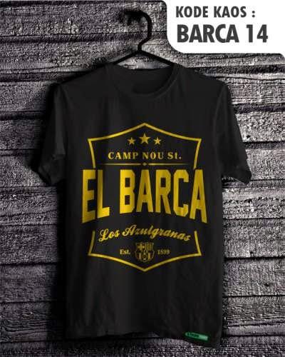 kaos distro bola barcelona