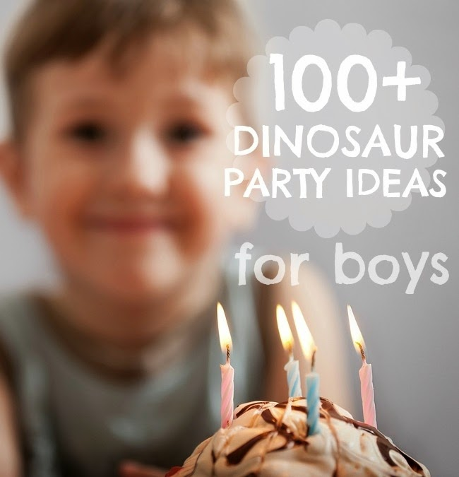http://spaceshipsandlaserbeams.com/dinosaur-birthday-party-ideas