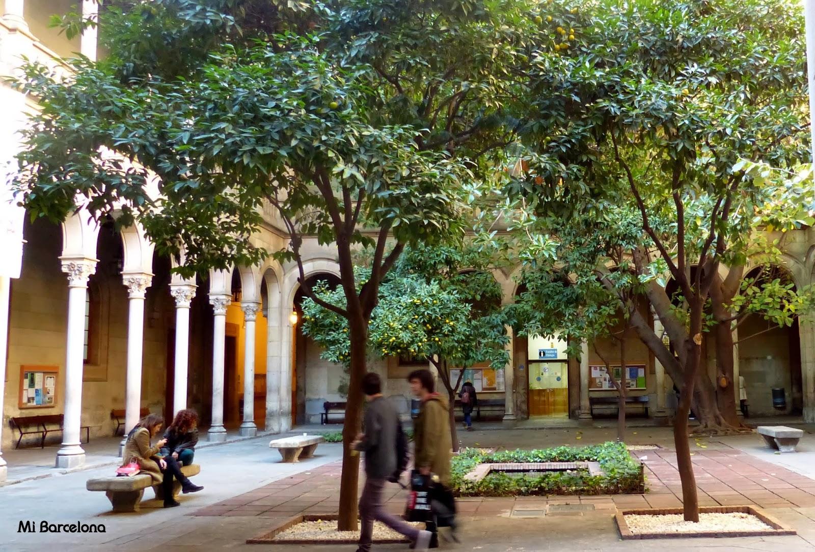 mi barcelona edificio hist rico de la universidad de