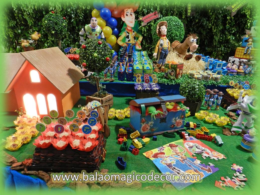 Agora n s somos festeirah decor decora o do toy story for Agora decoration