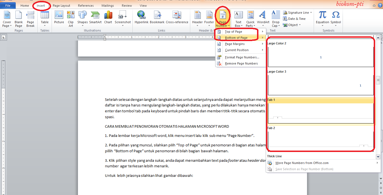 http://biokom-pti.blogspot.com/2014/06/cara-membuat-buat-daftar-isi-dan-penomoran-halaman-otomatis-pada-microsoft-word-ulik-informatika.html