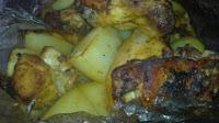 pollo al horno de maggi